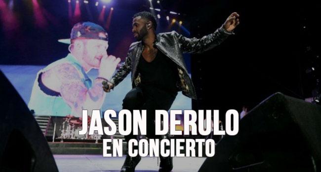 Jason Derulo in concert in Barcelona | Hotel Actual